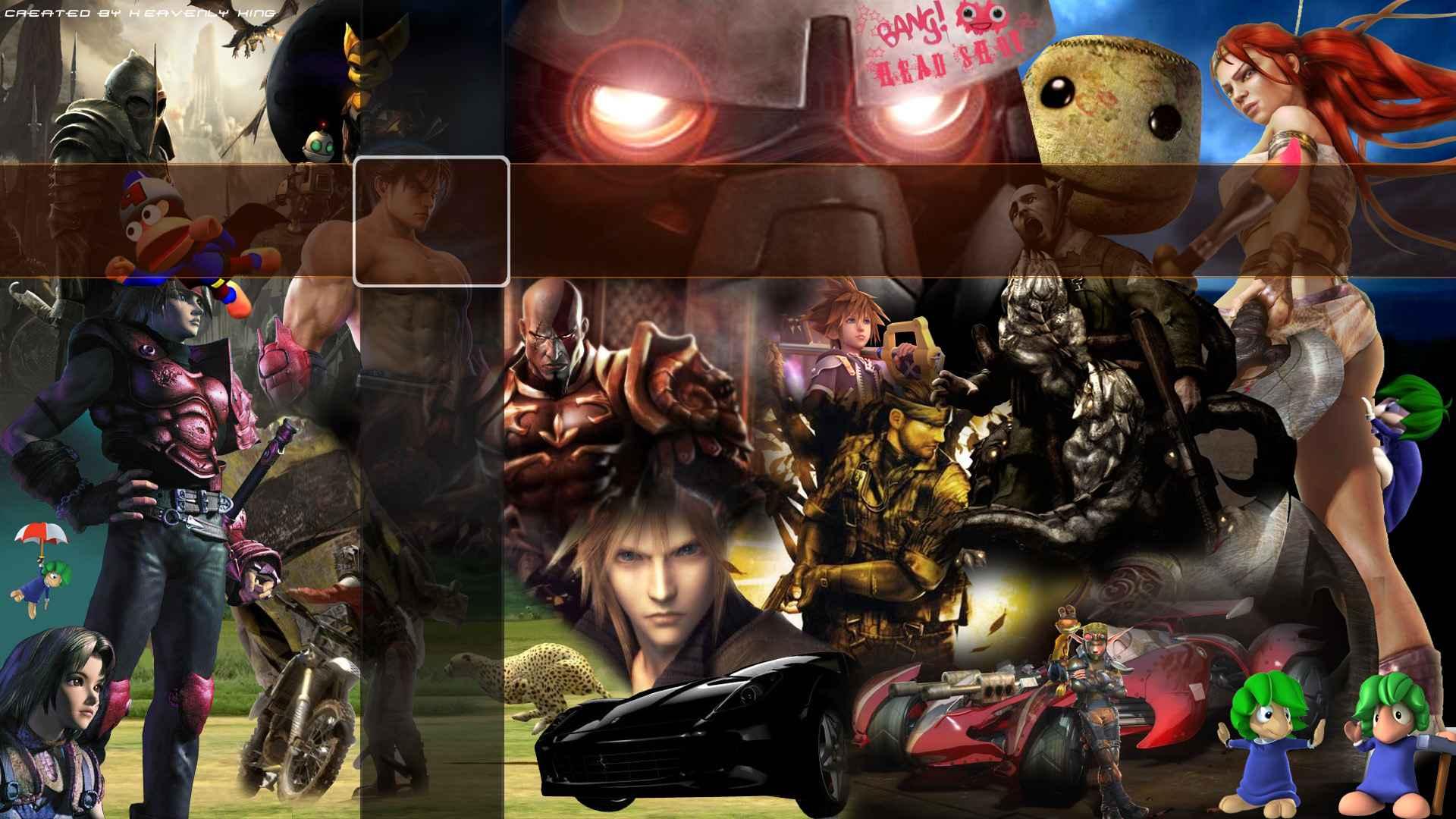 Playstation Characters Wallpaper