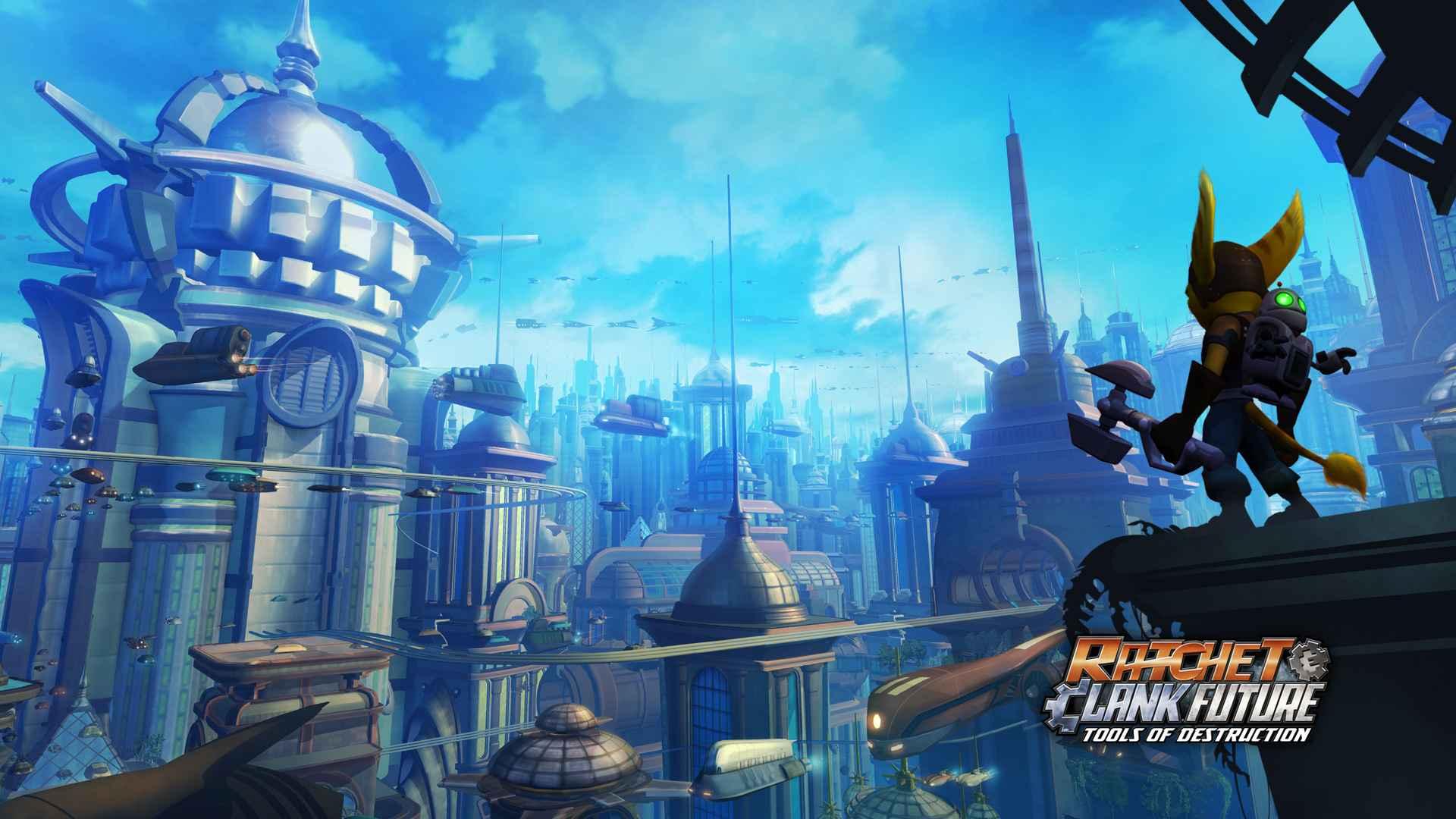 Ratchet Clank Future Tools Of Destruction 4k Playstation