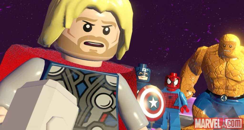 Lego Marvel Super Heroes Wallpaper Playstation Universe