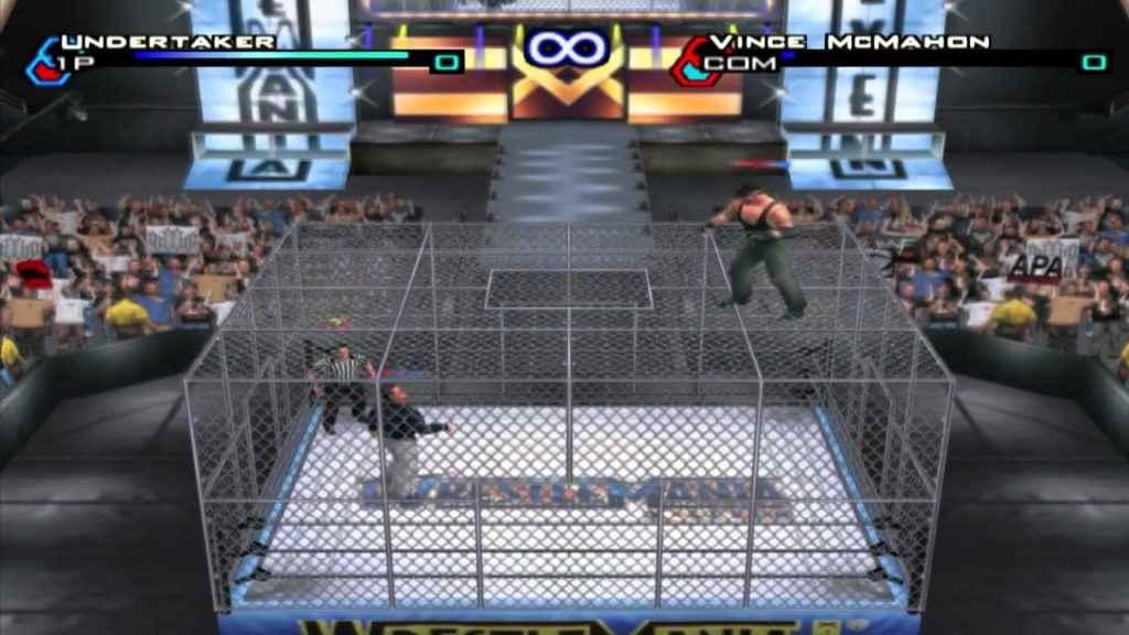 WWE Games 08