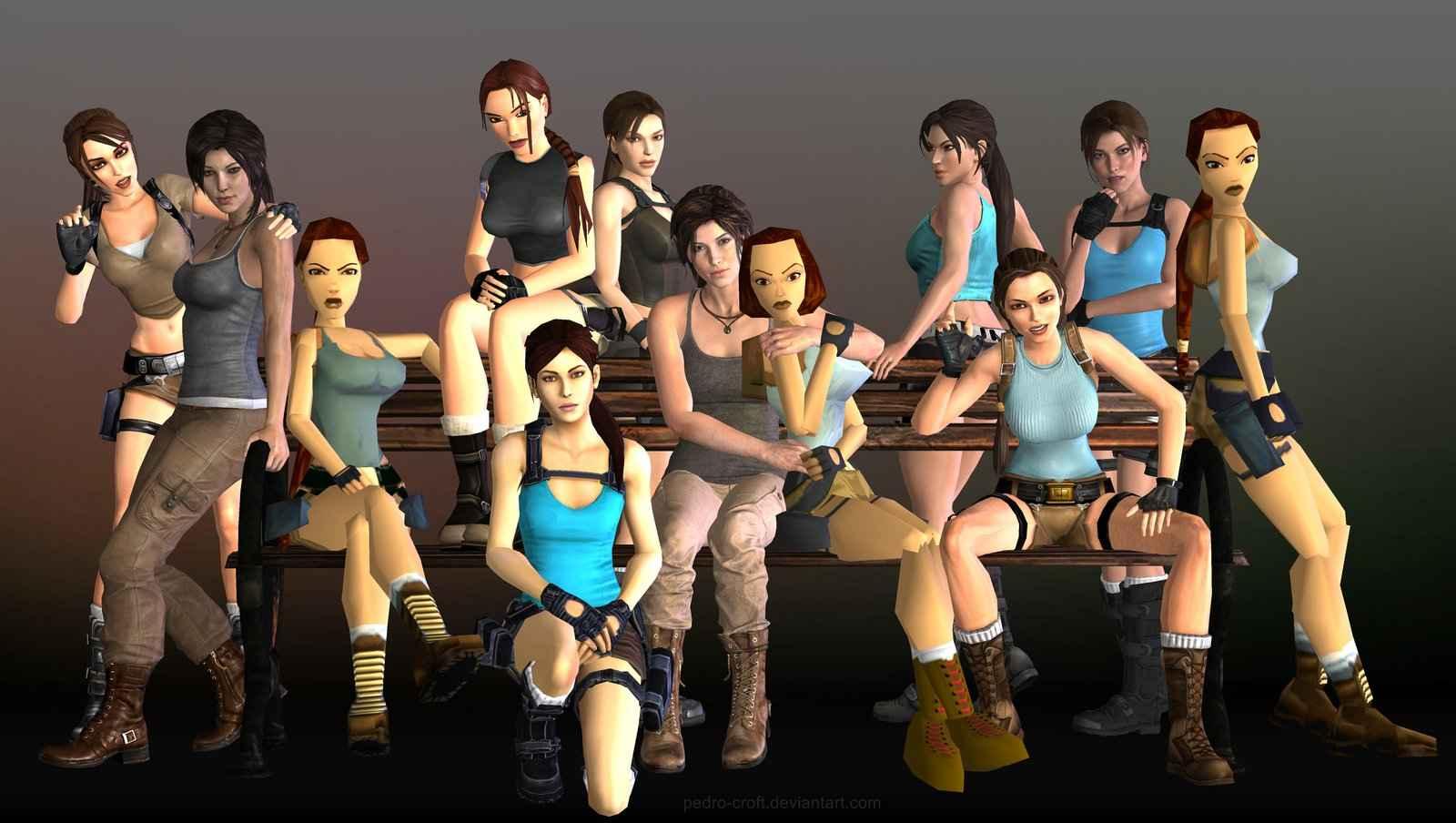 Tomb Raider History Celebrating 20 Years Of Lara Croft