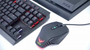 PS4 Keyboard and Mouse