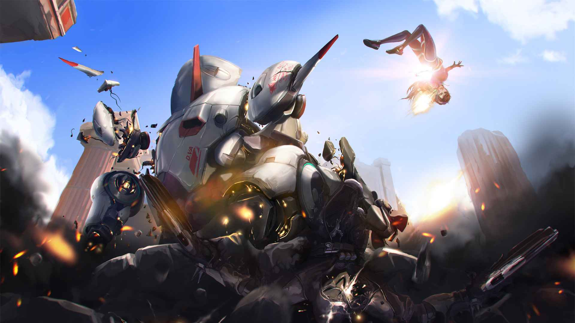 overwatch playstation wallpaper playstation universe