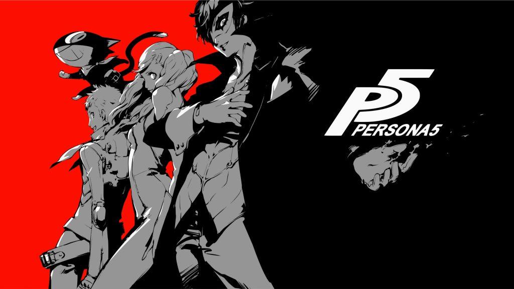 Persona 5 4K PS4 Wallpaper 1