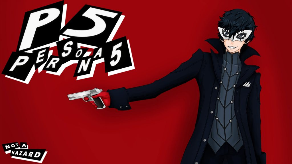 Persona 5 4K PS4 Wallpaper 3