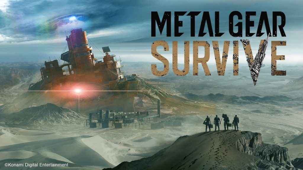 Metal Gear Survive ps4 beta