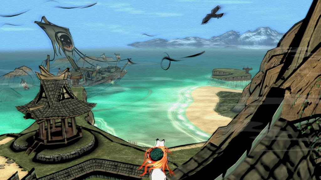 okami hd gameplay