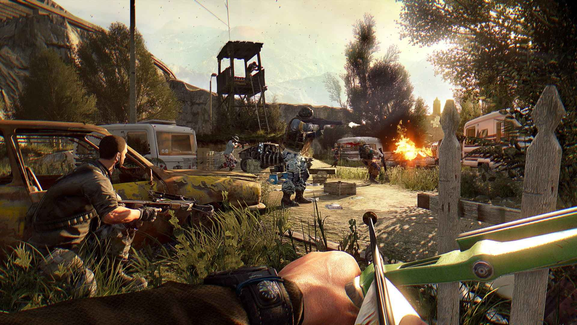 Dying Light Content Drop 2 delivers Gun Silencer today
