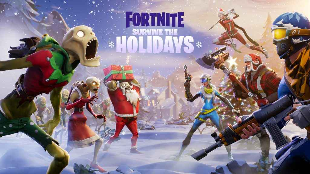 fortnite christmas event
