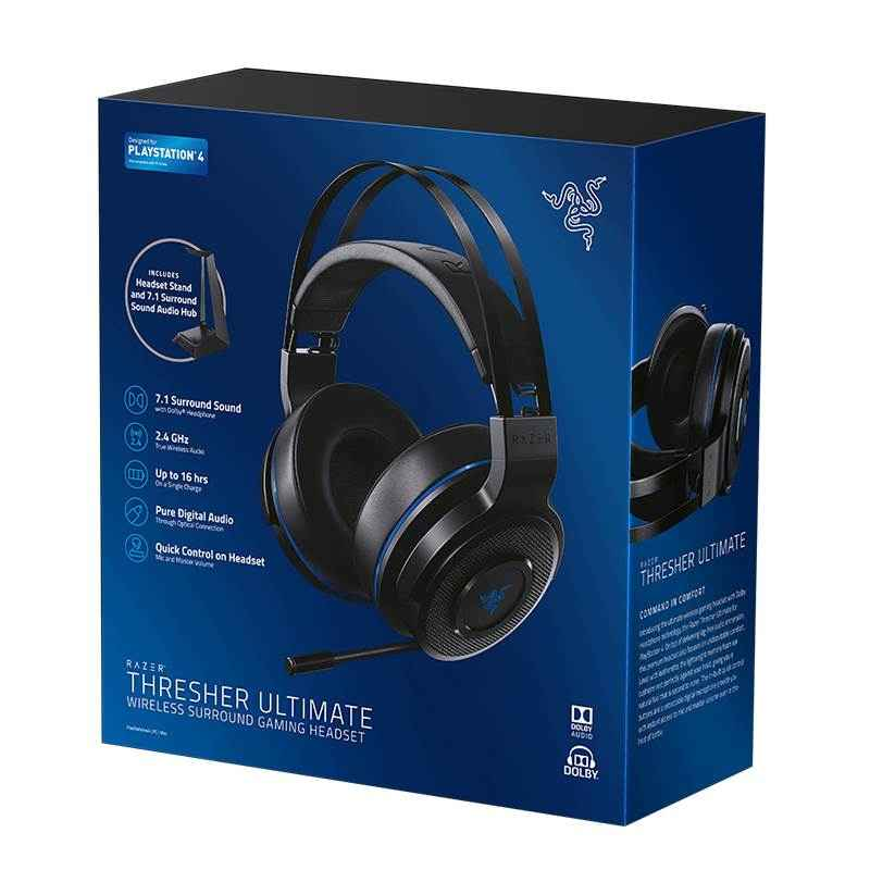 Razer Thresher Ultimate Review: The Best Wireless PS4 headset