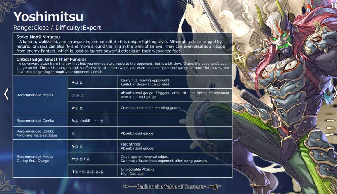 Soul Calibur 6 Move List For All Characters Playstation Universe