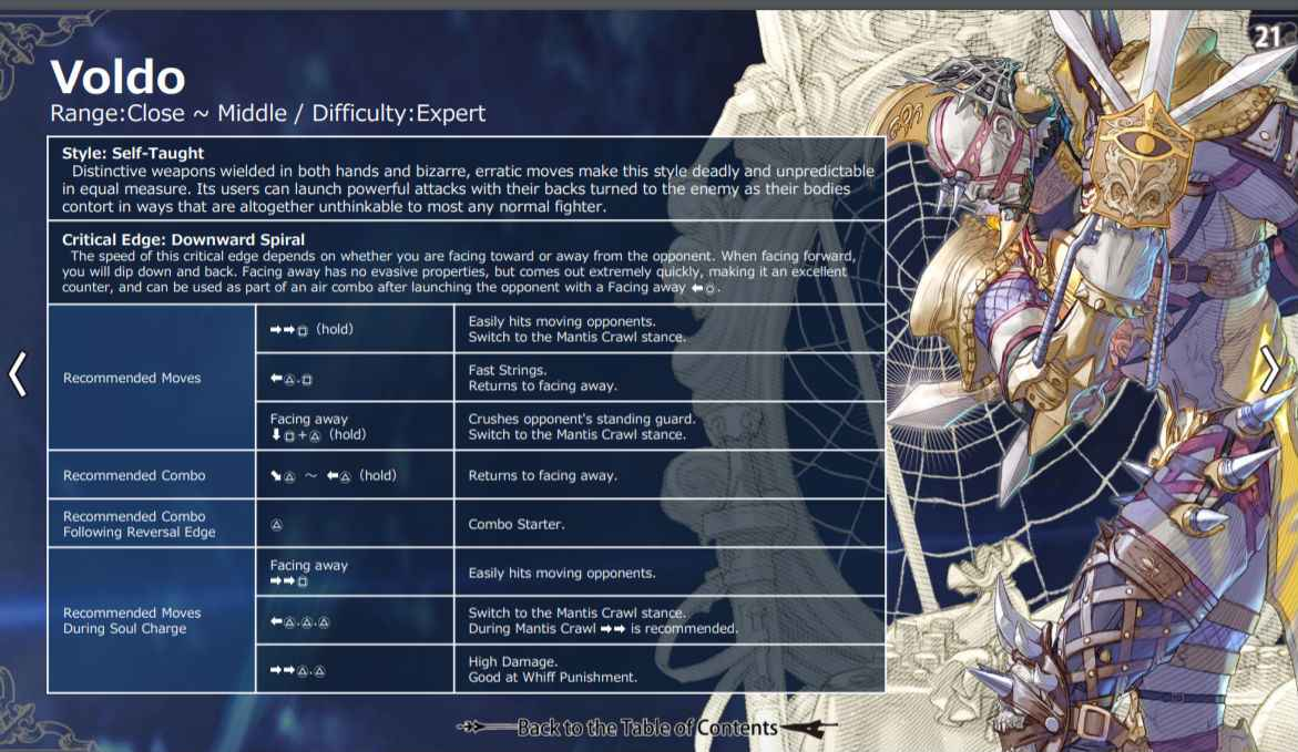 Soul Calibur 6 Move List For All Characters - PlayStation Universe