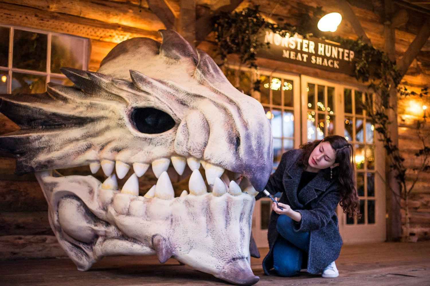 Monster Hunter World Meat Shack Opens For Those With The