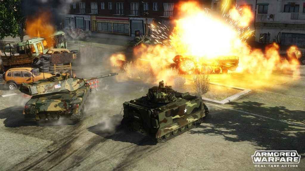 armored warfare ps4 tanks