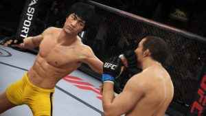 bruce lee ea sports ufc 3 unlock