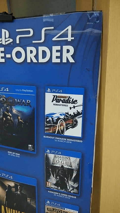 burnout paradise remastered ps4 pre load begins ahead of release playstation universe. Black Bedroom Furniture Sets. Home Design Ideas