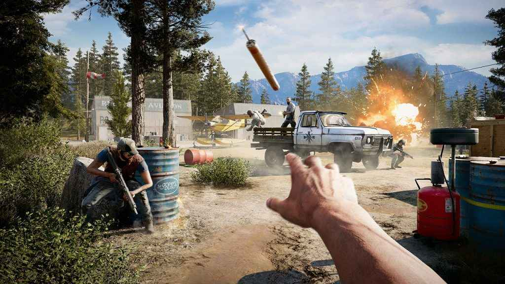 far cry 5 reaping truck