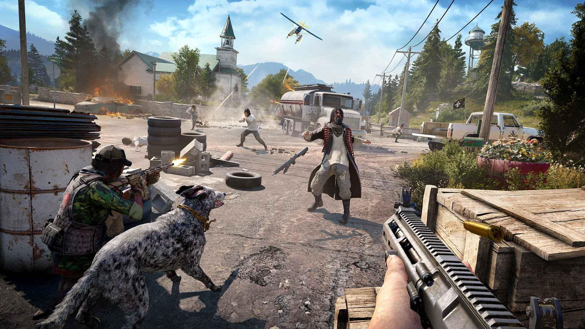 Far Cry 5 Live Event Arcade Dawn Start Time Mission Rewards Playstation Universe