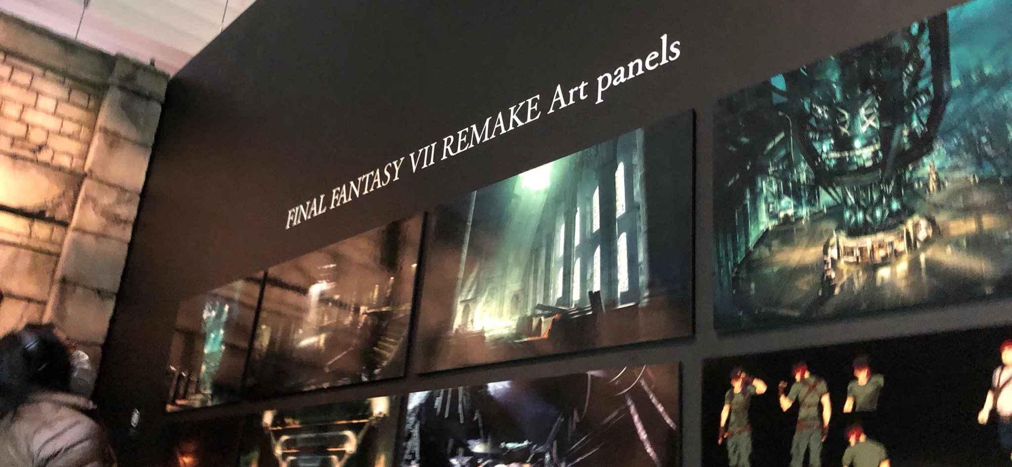 final fantasy vii remake artwork