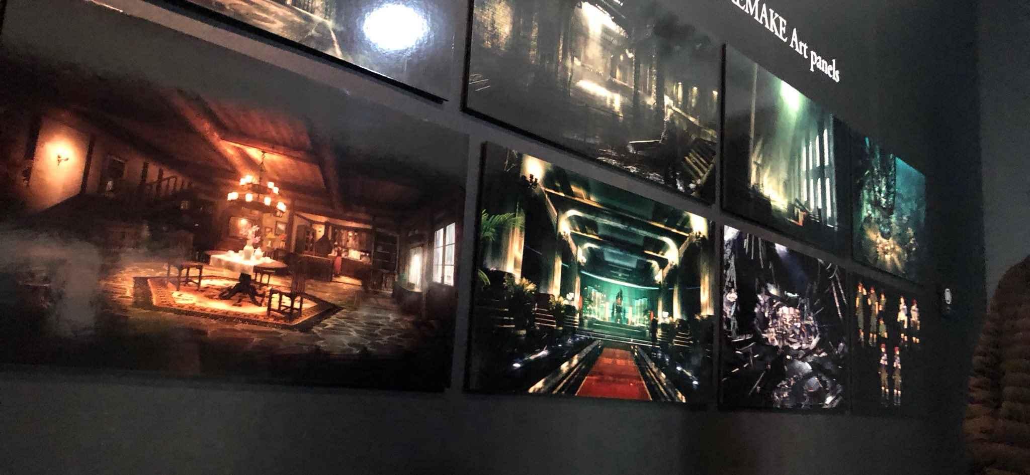 final fantasy vii tokyo exhibition