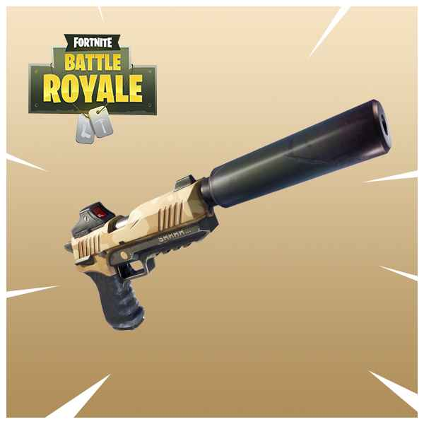 Fornite Battle Royale Latest Update Adds Silenced Pistols