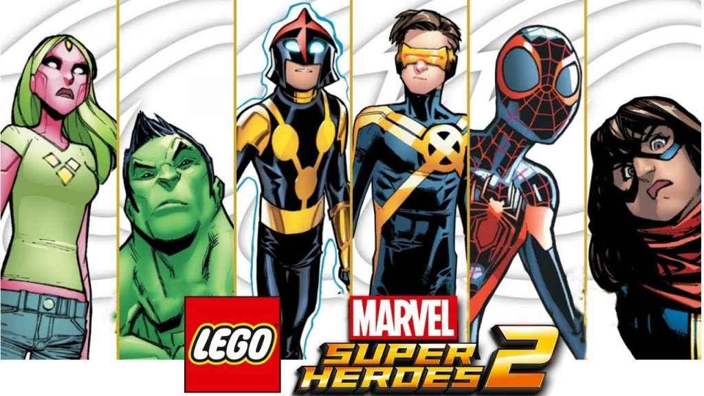 lego marvel super heroes 2 champions dlc pack