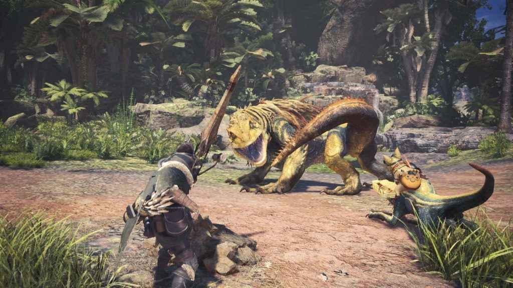 monster hunter world character creation