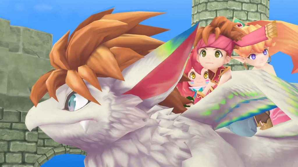 Secret of Mana Remake Now Available on PS4 and PS Vita