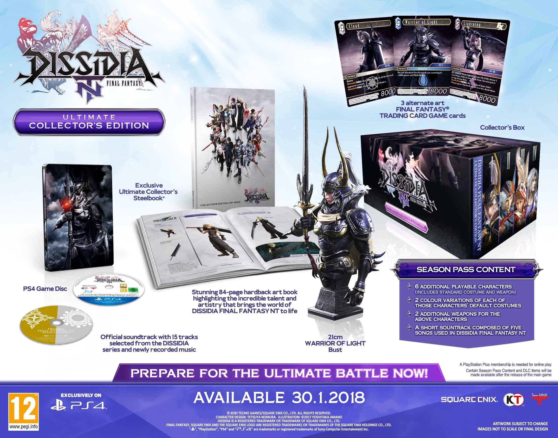 dissidia ps4 collector's edition