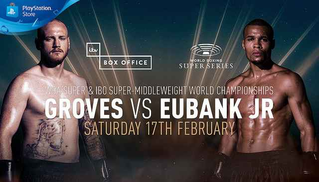 Groves keeps title belt with Eubank Jr win