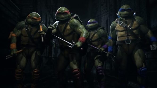 Injustice 2 welcomes the Teenage Mutant Ninja Turtles this month