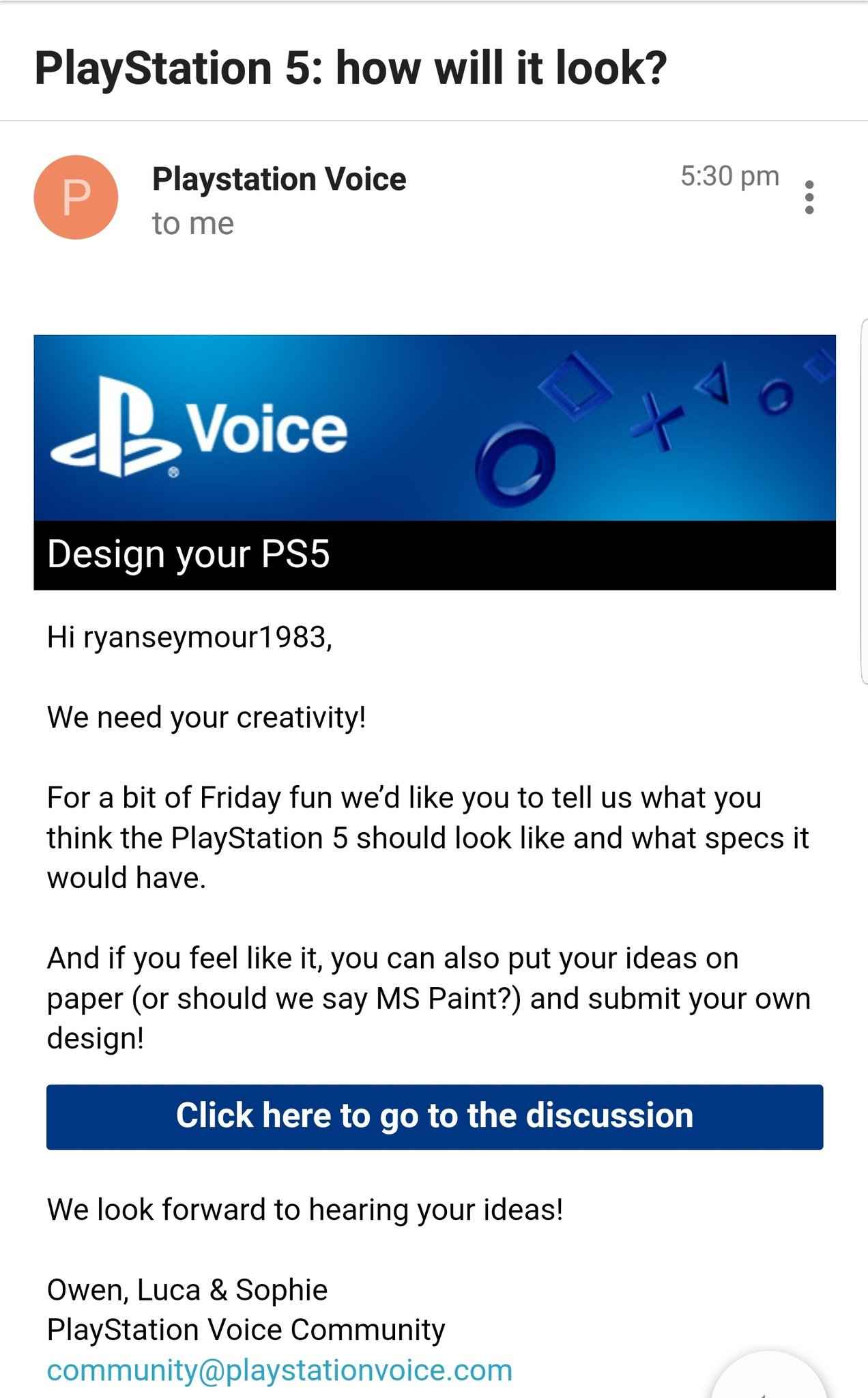 ps5 survey