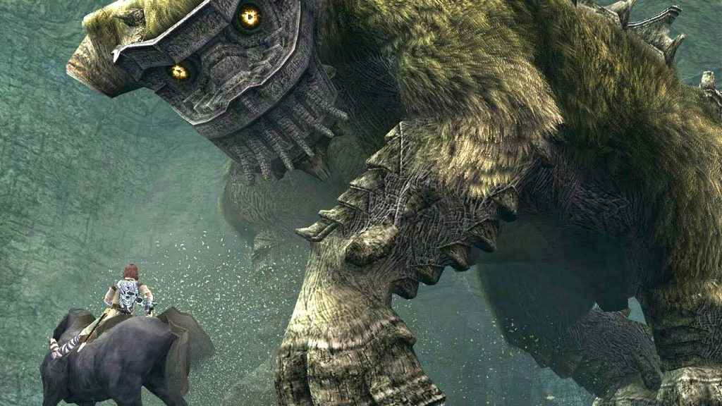 second boss shadow of the colossus