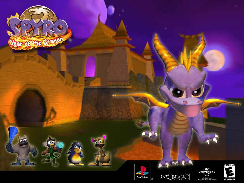 spyro year of the dragon ps4