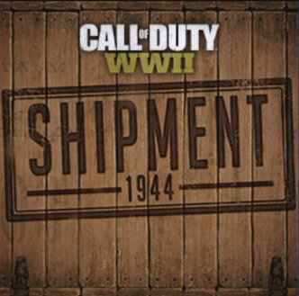 cal of duty wwII shipment
