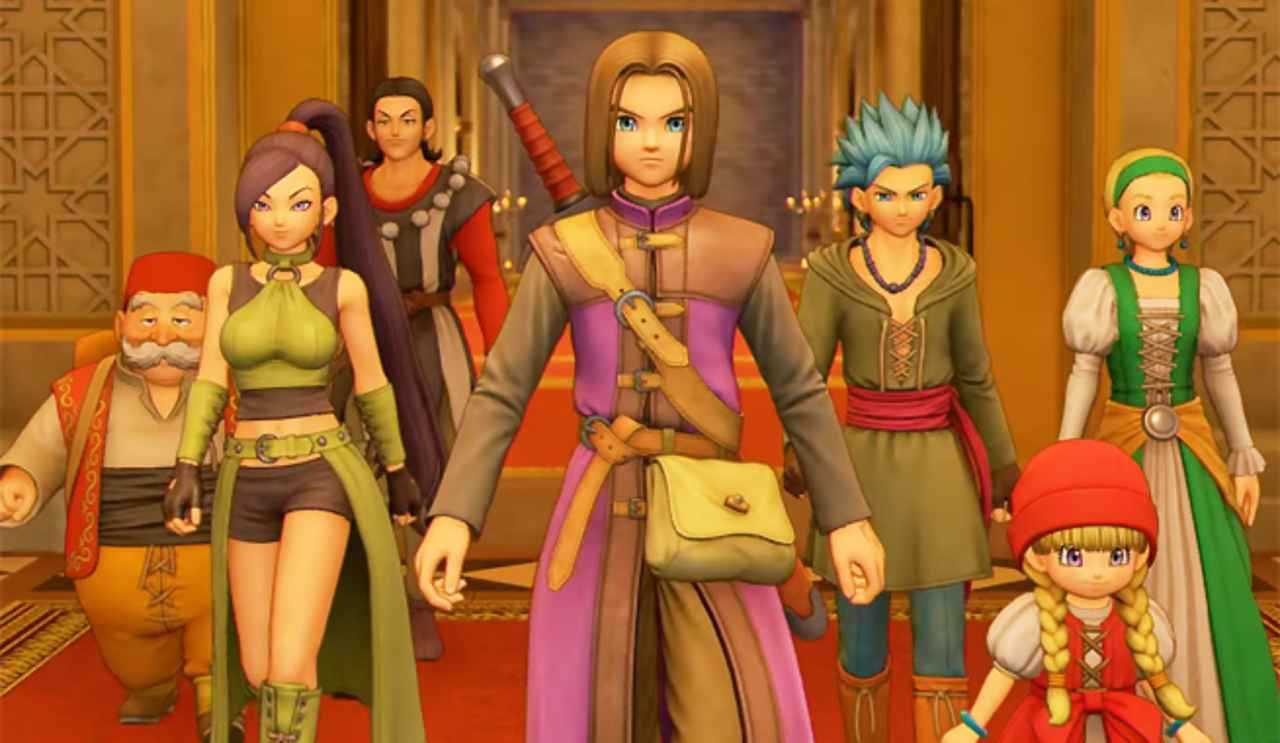 Dragon Quest Xi Wallpaper: Dragon Quest XI Heads West On PS4 This Year