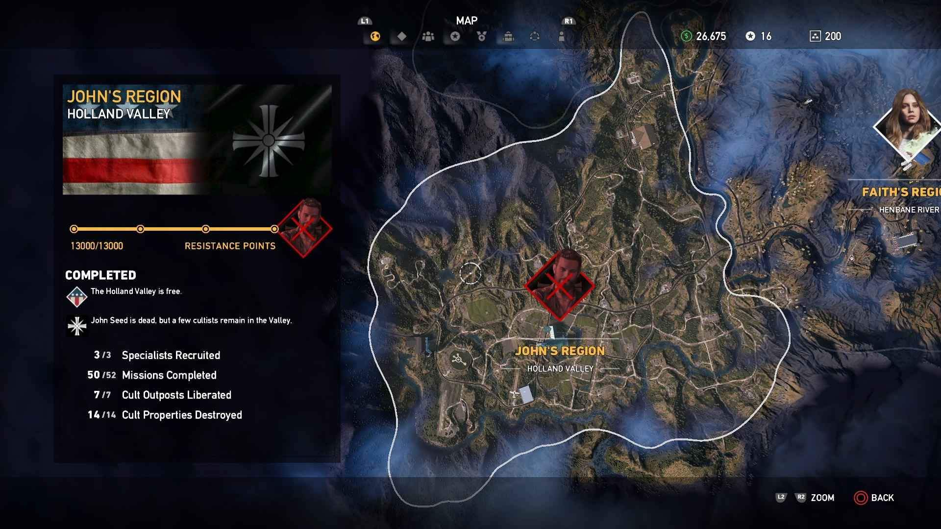 far cry 5 map size square miles