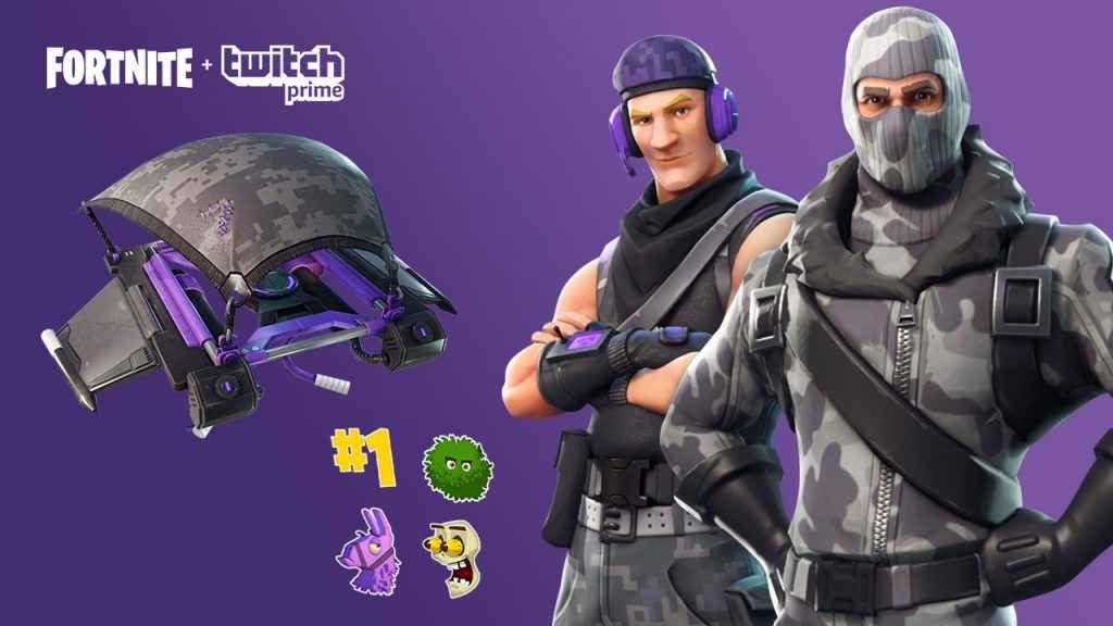 fortnite how to get the twitch prime pack