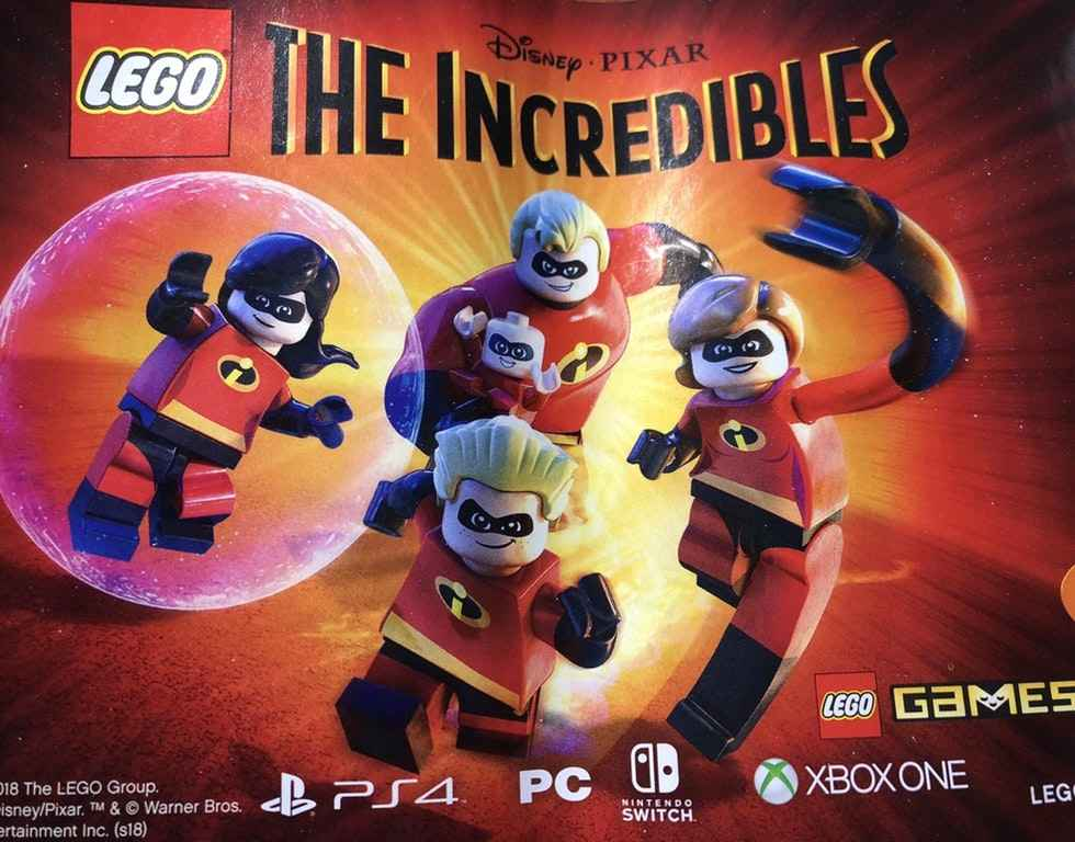 LEGO The Incredibles video game heading to PC, consoles