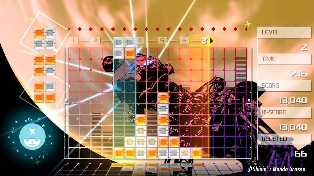 lumines remastered playstation 4