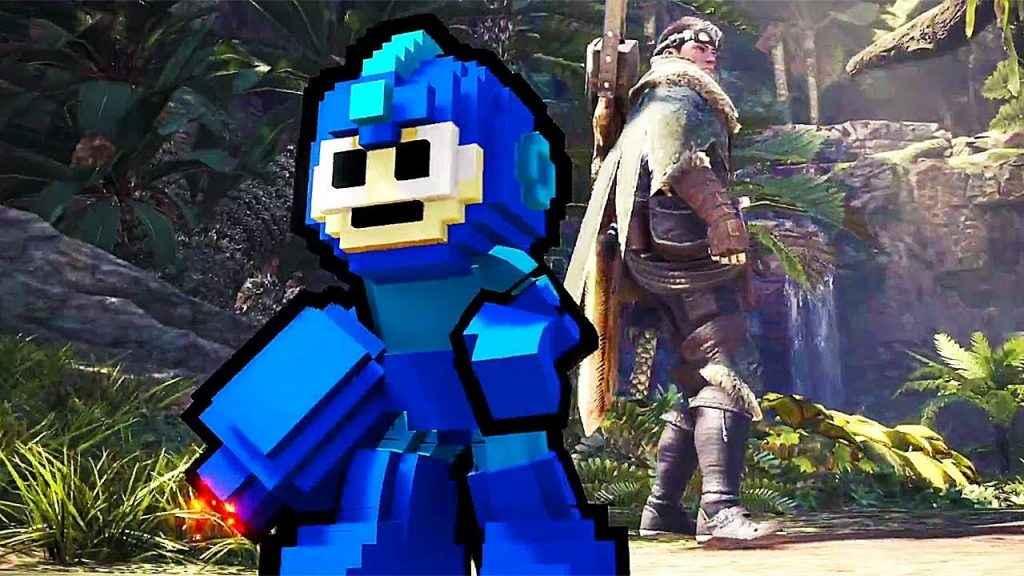 Monster Hunter World Mega Man