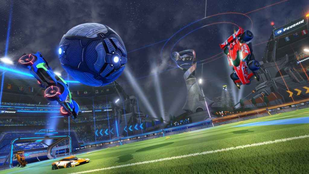 best multiplayer ps4 games rocket league