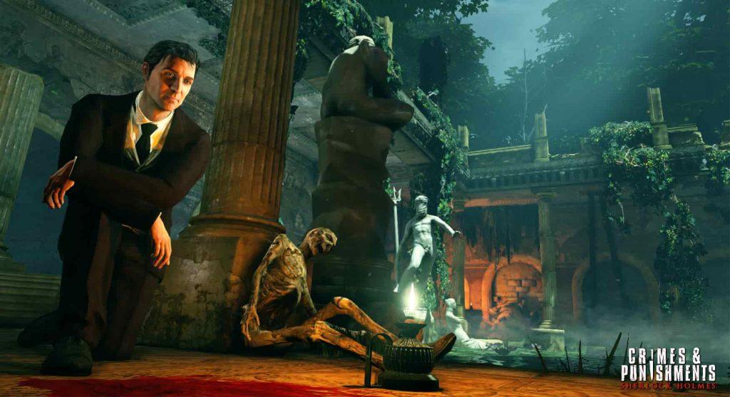 Best PS4 detective games Sherlock Holmes Crimes & Punishments