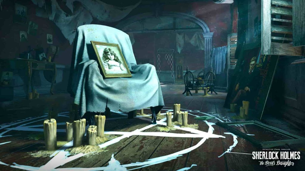 Best PS4 Detective Games Sherlock Holmes: The Devil's Daughter