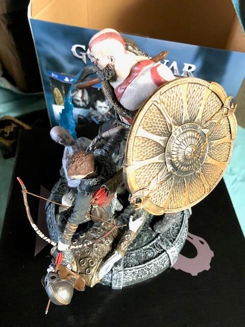 God Of War Ps4 Pro Bundle And Stone Mason Edition Unboxing
