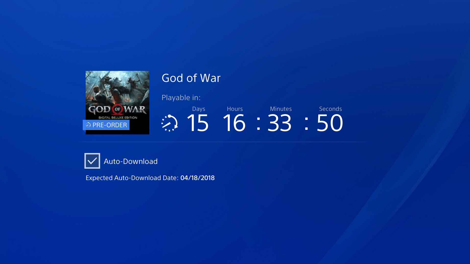god of war preload