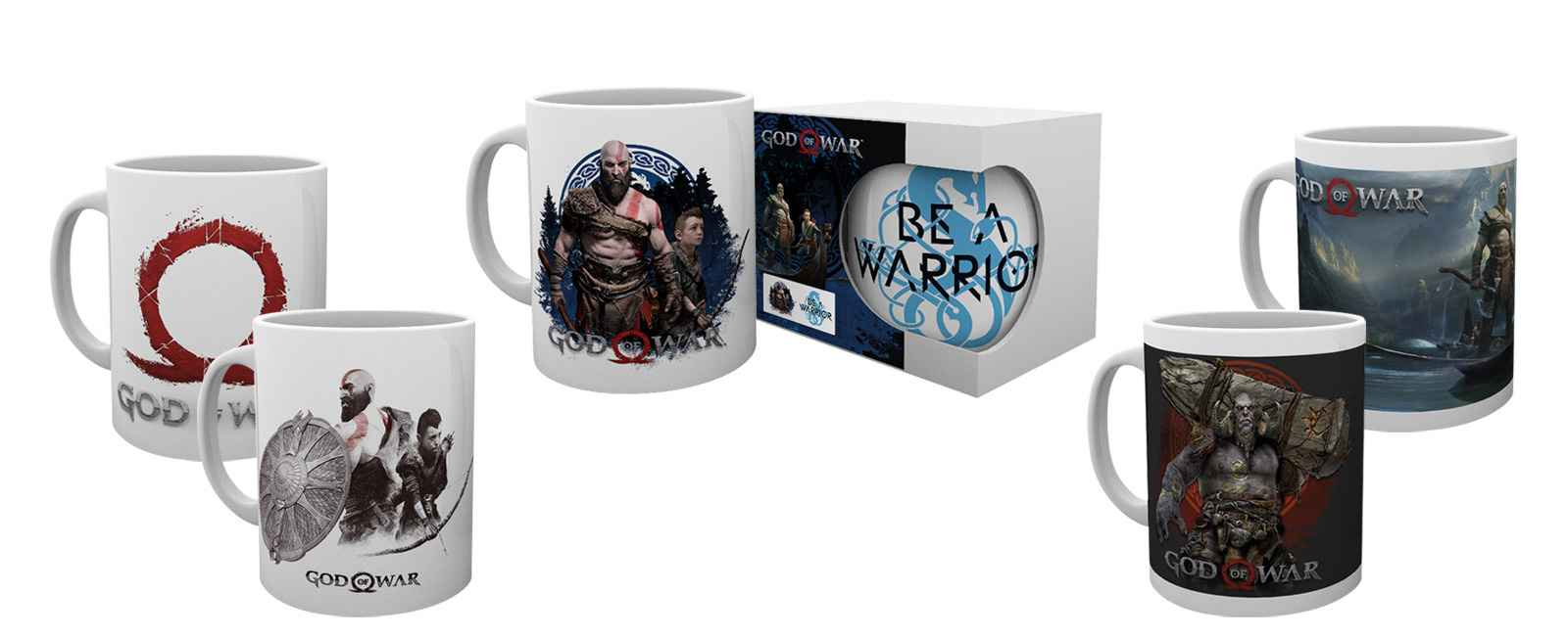 god of war mugs
