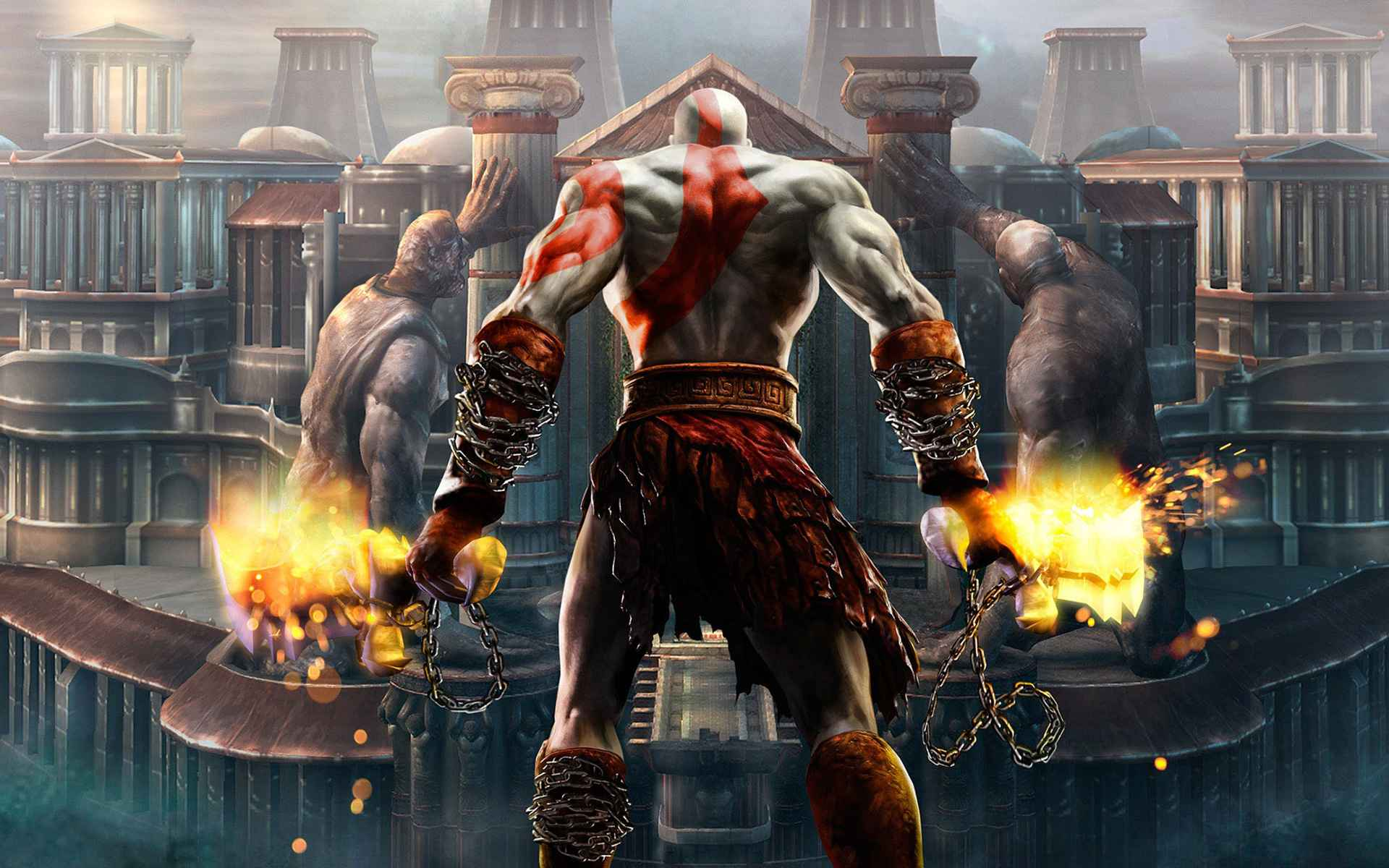 god of war wallpapers in hd, 4k for ps4 - playstation universe