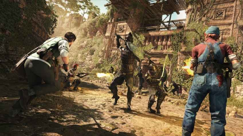 1930s Mummy-style co-op shooter Strange Brigade launches in August