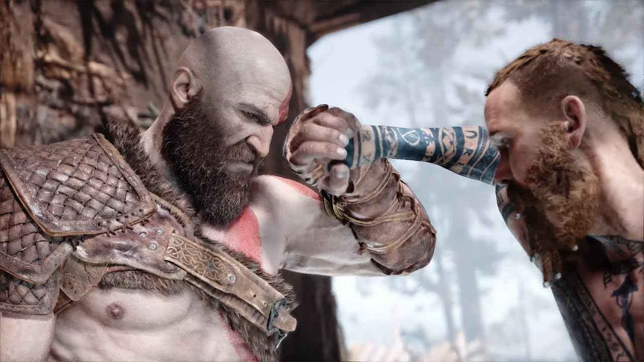 the stranger vs kratos